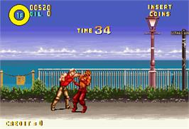 In game image of Karate Blazers on the Arcade.
