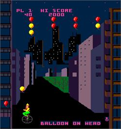 In game image of Kick on the Arcade.