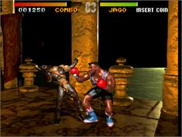 In game image of Killer Instinct on the Arcade.