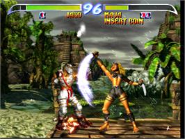 In game image of Killer Instinct 2 on the Arcade.