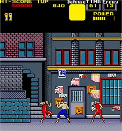 In game image of Knuckle Joe on the Arcade.