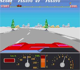 In game image of Konami GT on the Arcade.