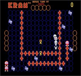In game image of Kram on the Arcade.