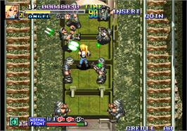 In game image of Lansquenet 2004 on the Arcade.