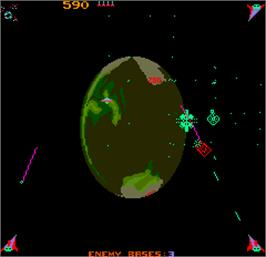 In game image of Liberator on the Arcade.