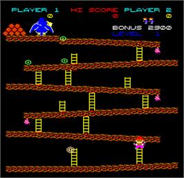 In game image of Logger on the Arcade.