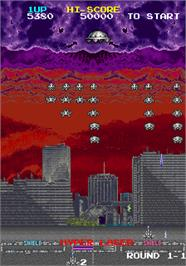 In game image of Majestic Twelve - The Space Invaders Part IV on the Arcade.