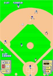 In game image of Major League on the Arcade.