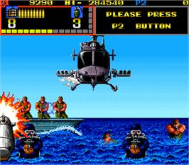 In game image of Mechanized Attack on the Arcade.