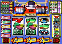 In game image of Meosis Magic on the Arcade.