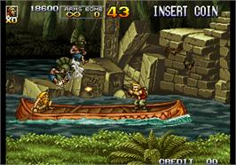 In game image of Metal Slug 5 on the Arcade.