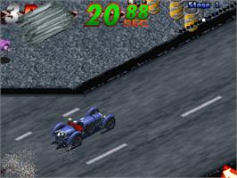 In game image of Mille Miglia 2: Great 1000 Miles Rally on the Arcade.