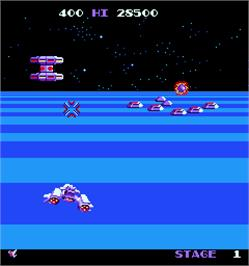 In game image of Mirax on the Arcade.