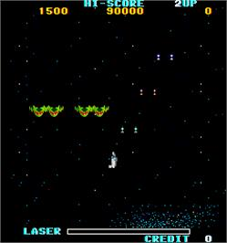 In game image of Mission 660 on the Arcade.