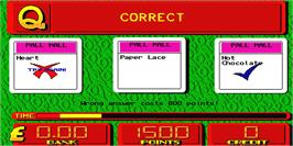 In game image of Monopoly on the Arcade.