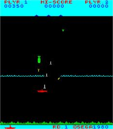 In game image of N-Sub on the Arcade.