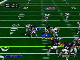 In game image of NFL Blitz on the Arcade.