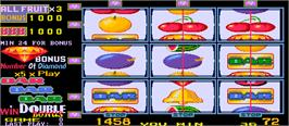 In game image of New Fruit Bonus '96 Special Edition on the Arcade.