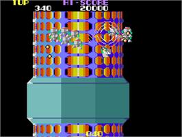 In game image of Nova 2001 on the Arcade.