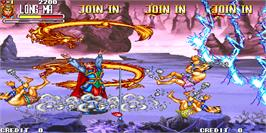 In game image of Oriental Legend / Xi You Shi E Zhuan on the Arcade.
