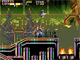 In game image of Osman on the Arcade.