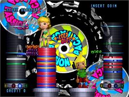 In game image of Paca Paca Passion on the Arcade.