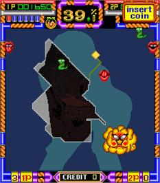 In game image of Paradise 2 Deluxe on the Arcade.