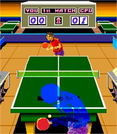 In game image of Ping-Pong King on the Arcade.