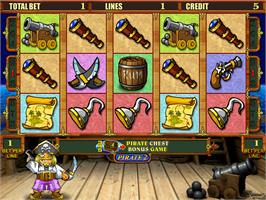 In game image of Pirate 2 on the Arcade.