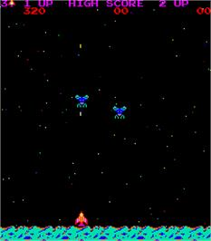 In game image of Pisces on the Arcade.