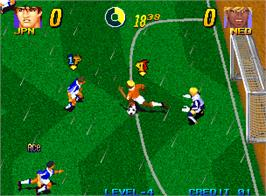 In game image of Pleasure Goal / Futsal - 5 on 5 Mini Soccer on the Arcade.