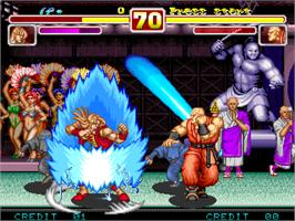 In game image of Power Instinct 2 on the Arcade.