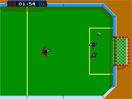 In game image of Power Play on the Arcade.