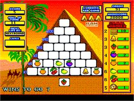 In game image of Pyramid on the Arcade.