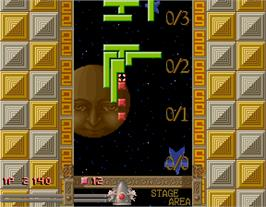 In game image of Quarth on the Arcade.