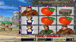 In game image of Robin's Adventure 2 on the Arcade.