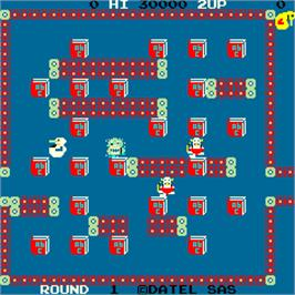 In game image of Rock Duck on the Arcade.
