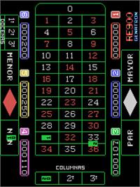 In game image of Ruleta RE-900 on the Arcade.