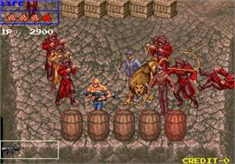 In game image of Runark on the Arcade.