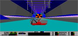 In game image of S.T.U.N. Runner on the Arcade.