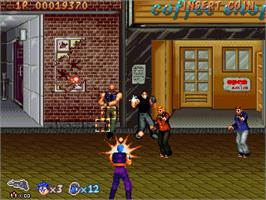 In game image of SWAT Police on the Arcade.