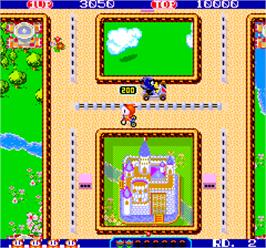 In game image of Sanrin San Chan on the Arcade.