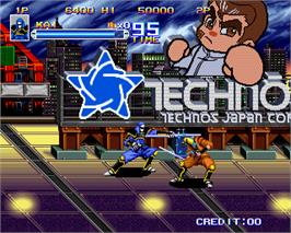 In game image of Shadow Force on the Arcade.