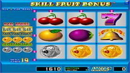 In game image of Skill Fruit Bonus on the Arcade.
