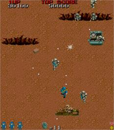 In game image of Space Invasion on the Arcade.