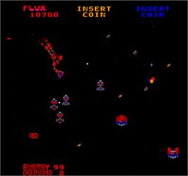 In game image of Star Guards on the Arcade.
