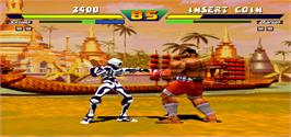 In game image of Street Fighter EX Plus on the Arcade.