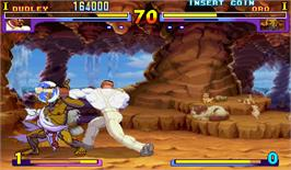 In game image of Street Fighter III: New Generation on the Arcade.