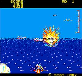 In game image of Subroc-3D on the Arcade.