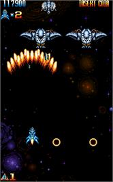 In game image of Super-X on the Arcade.